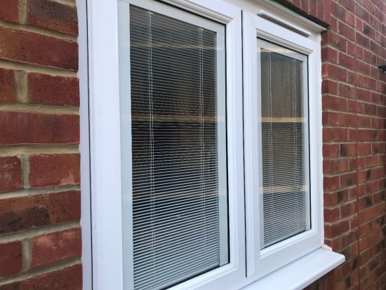 Upvc French Doors With Integral Blinds on